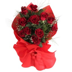 11 Red Roses Bouquet